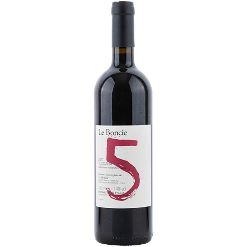 """Le Boncie - """"5"""" Cinque Toscana IGT"""
